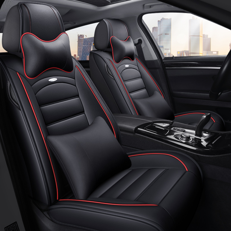 VW 17s new Lanyi Jetta Santana Polo speed seat cushion dedicated pu leather all-inclusive car seat cover
