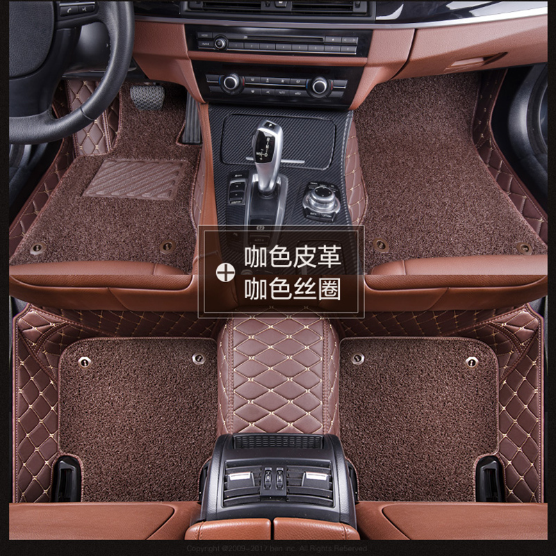 17 SAIC Chase T60 pickup special double-layer silk ring removable fully surrounded car foot pad waterproof automatic