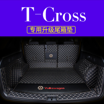 19 new Volkswagen tcross surrounded tail box mat t-cross special car trunk mat interior modification