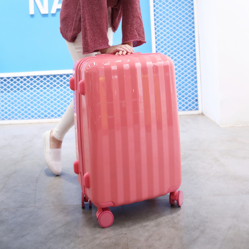 Luggage suitcase female Korean version 20 inch pull-rod suitcase tremble cute girl ins net red code student travel suitcase
