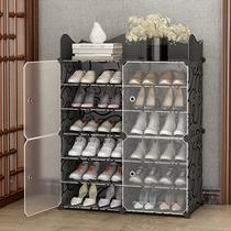 Простой обувной шкаф для домашнего экономичного хранения артефактов многослойной пыленепроницаемой внутренней хорошей обувной полке у двери большой емкости