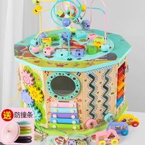 Вокруг бисера бисером детские развивающие игрушки 0-1-2-3-летний ребенок учит ранний сундук с сокровищами вокруг бисера головоломки силы игрушки 6