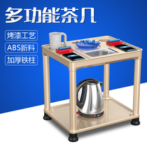 Small coffee table chess room special tea table high-grade thickening automatic mahjong machine tea table mahjong machine accessories 2