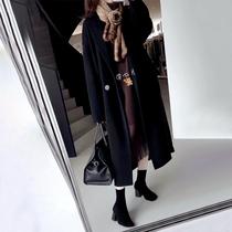 Rongmei (DY0924591)Hall level kilogram heavy grade pure cashmere handmade double-sided classic coat