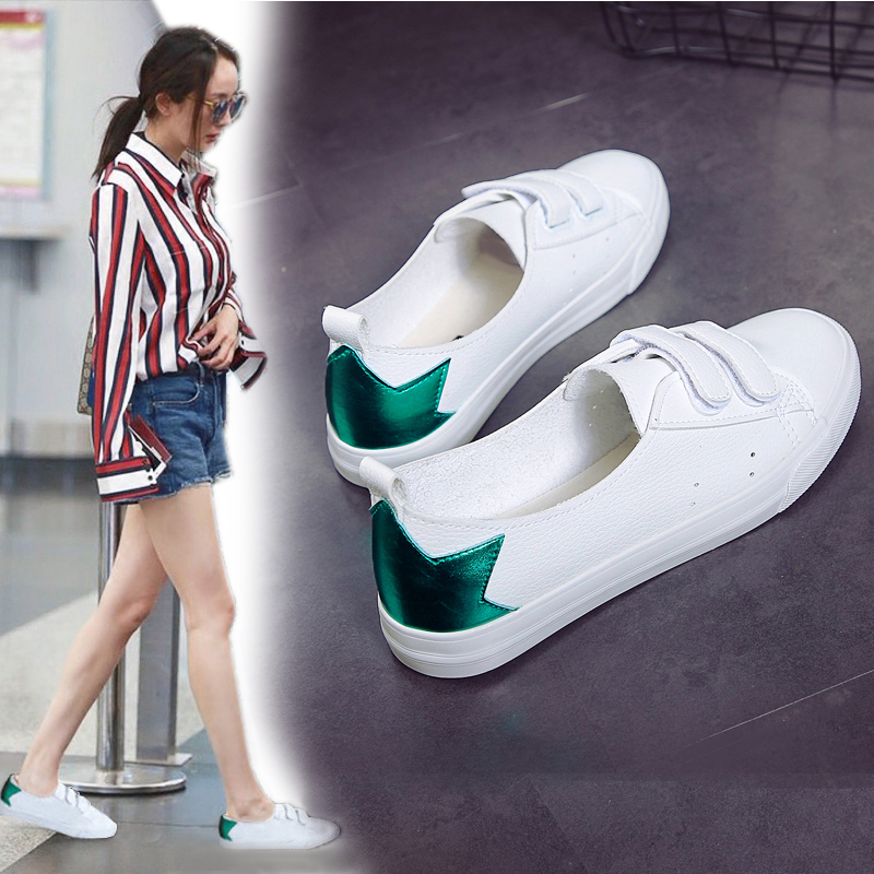 Small White Shoes Female Summer, Spring and Autumn, New Flat-soled Female Shoes, Spring and Autumn Shoes, Spring and Autumn Shoes, Trendy Shoes and Single Shoes in Autumn