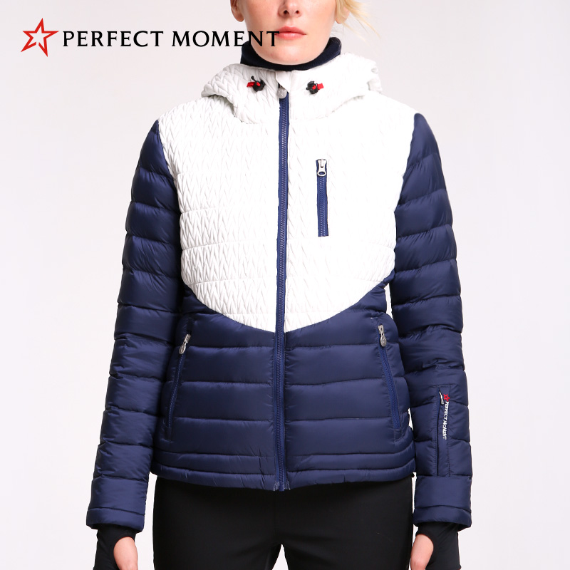 French perfectmoment velvet jacket waterproof and windproof warm body outdoor womens ski wear counters