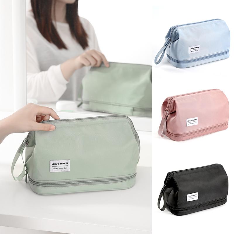 Cosmetics storage bag women portable 2020 new super-hot large-capacity wash bag travel 2021 premium feel net red