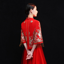 Summer Chinese thin pregnant woman red big code toast Clothes