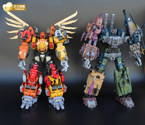 Jinbao Roller MMC version transformers enlarged version six fits the giant hideous mixed-day leopard spot