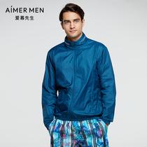 Mr Love 21SS casual sunscreen hoodie zipper long sleeve NS81E392
