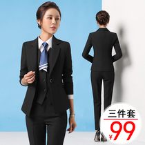 Autumn and winter College Lady professional dress