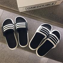 droptheother тапочки мужской летней моды внешней одежды корейской версии прилива мягкое дно открытый пляж прохладный перетащить противоскользящие слово перетащить