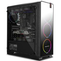 Xingguang Yun 7Plus all side water-cooled dust-proof mute backline tower chassis desktop machine