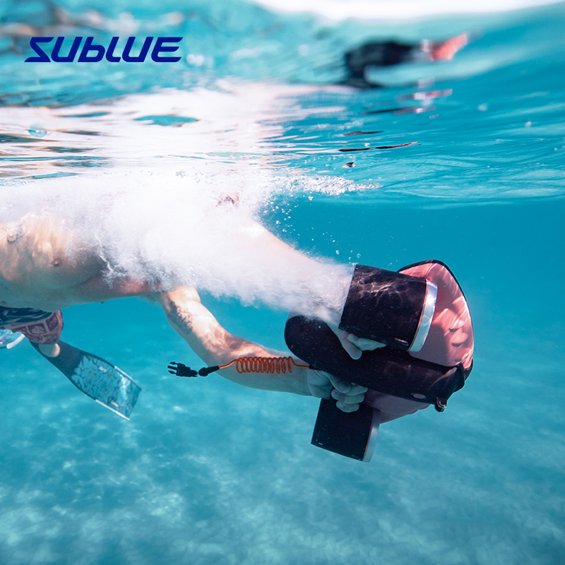 Sublue PowerEd Underwater Propulsion is equipped with a small electric swimming professional Sanya submersible booster