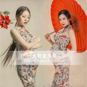 Antique pictures retro fashion dress photo studio photography clothing rental women art as rental clothes