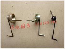 Jiangsu Zongshengrong J157 closed Cargo tricycle Fittings Zs200zh brake return spring throttle clutch Spring
