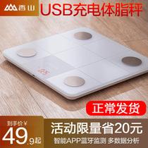 Xiangshan электронные весы для дома точные и прочные интеллектуальные измерения жира девушки общежитие малый вес тела тела жира весы