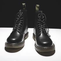 Мартин сапоги мужские высокие британские ветры корейская версия инструмент Джокер прилив обувь средние снегоступы мужские сапоги зимние хлопчатобумажные туфли мужская обувь