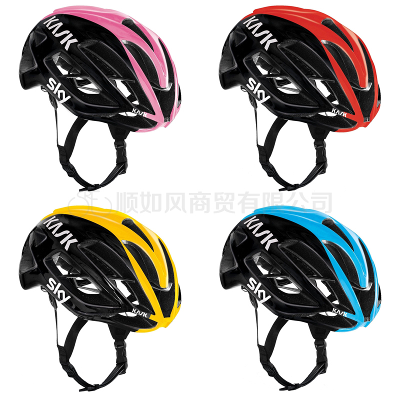 Genuine quality road riding helmet made in Italy KASK PROTONE SKY Sky Fleet Edition