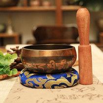Nepal handmade Buddhist 鉢 pronunciation bowl鉢 yoga meditation 鉢 fire for bowl 8.5CM (pre-sale)