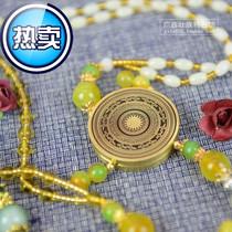 特色广西 壮族手工艺品民间铜鼓 长绳短绳款挂件 商务送a礼记念品