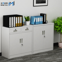 Office file cabinet Iron cabinet Low cabinet Data cabinet File cabinet Locker Tool storage cabinet Lockable small cabinet