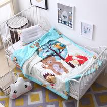 可水洗棉花被幼儿园夏凉被宝宝午睡被纯棉婴儿童盖被薄被120*150