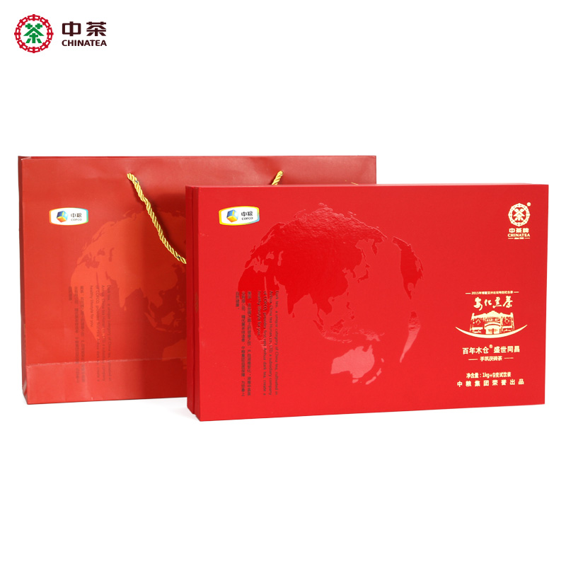 Shunfeng Baoyou: 1009g Tongchang Hand-built Poria Brick Tea, Anhua Black Tea, Hunan Province