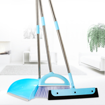 Home Magic Broom Single broom soft hair toilet scrape wiper sweep broom Dustpan combination set