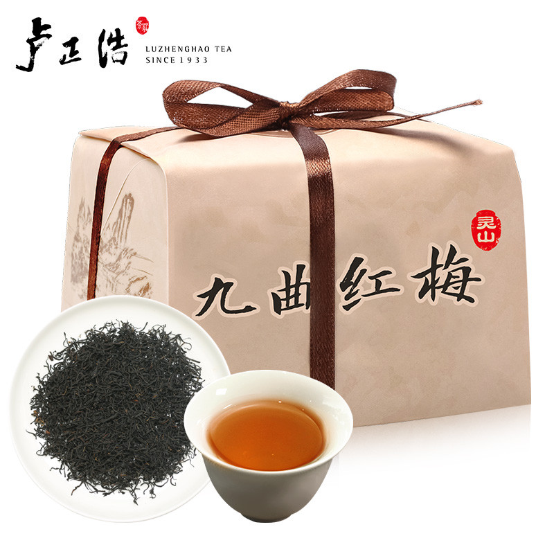 Lu Zhenghao Tea Red Tea, 9 Teas, Red Plums, 1st Grade Tea Traditional Package, 150g, Original West Lake Area, Origin, Black Tea