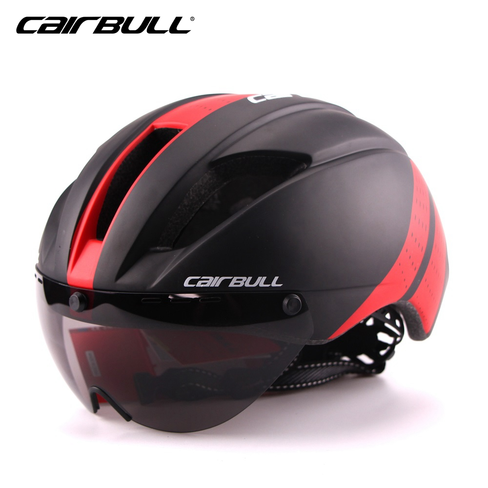 CAIRBULL brand magnetic suction mirror road bicycle helmet exclusive design riding helmet equipment