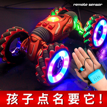 Childrens toy remote control car four-wheel drive online red gesture induction torque car oversize remote control car boy 6 years old