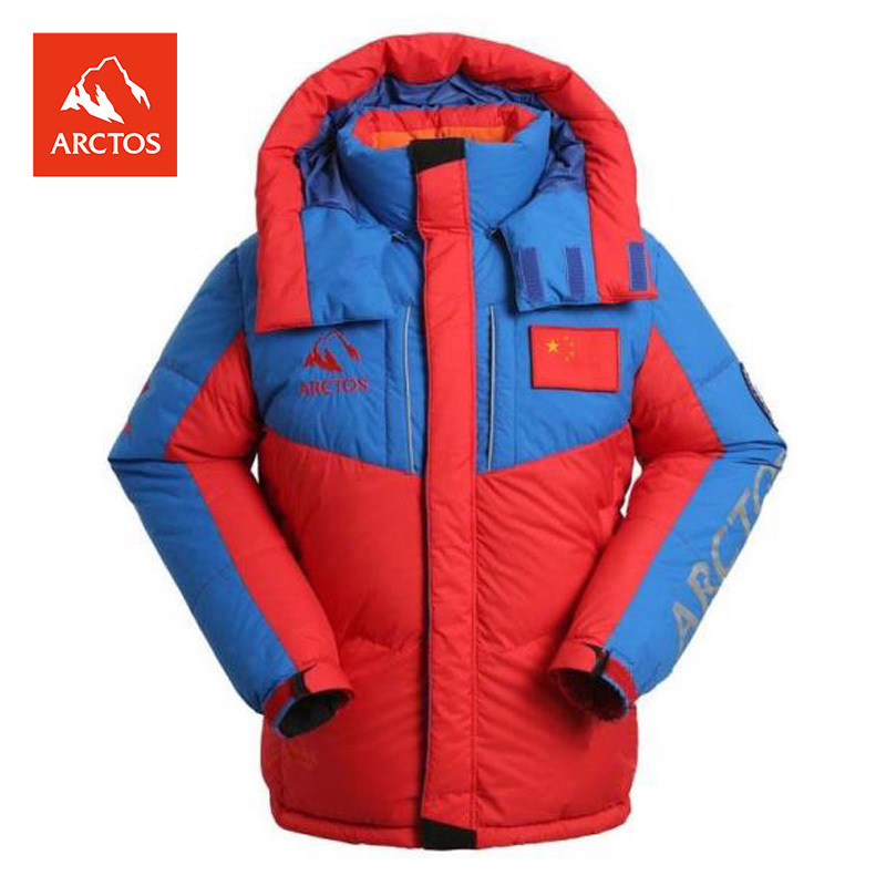 ARCTOS Polar Star Male and Female Professional Outdoor Polar Peak Down Alpine Polar Mountaineering Down Clothing Super Thick Warm