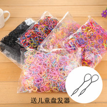 Children's one-time strong pull continuously high elastic band elastic hair bands holster dish hair hair act the role of female baby headdress flower