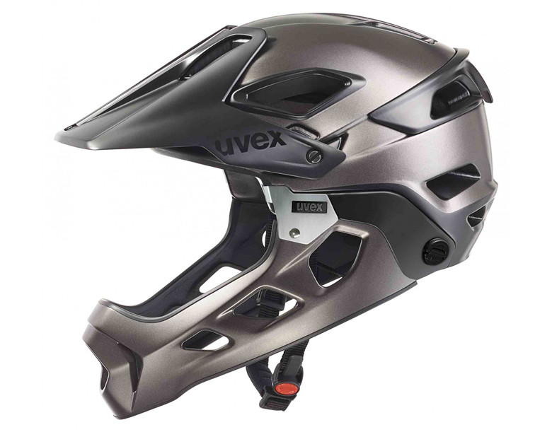 2016 UVEX jakkyl hde detachable full face helmet half helmet DH AM FR