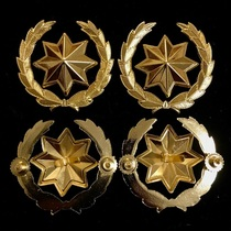 92 Octagonal Stars and Wheat Ears, [Price is a Pair Price]