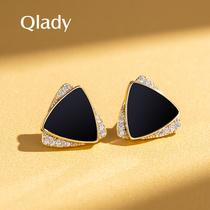 Earring studs 2021 2020 new fashion silver earrings for women sterling silver temperament high sense atmosphere light luxury