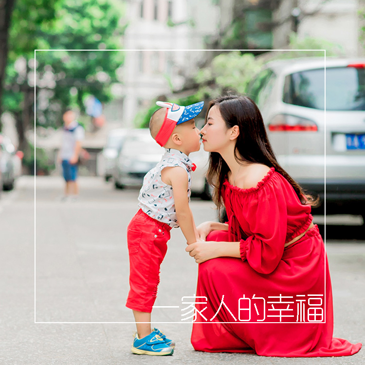 Guangzhou with the shooting of childrens photography couple travel with the photo of the door-to-door family photo family photo