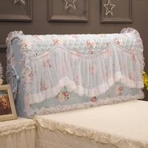 Bon rêve encore et encore Version coréenne de tissu dentelle princesse lit tête couverture lit couverture poussière protection en cuir lit idylle 1-8 m