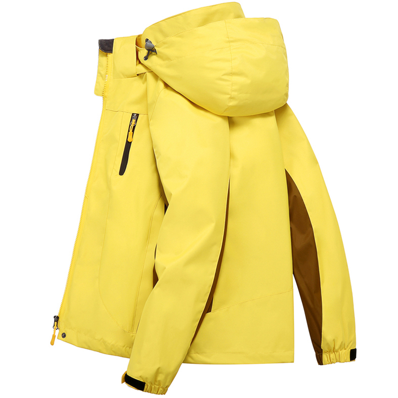 SMUEDU official outdoor stormtrooper womens three-in-one removable autumn and winter suit size thick waterproof wind protection