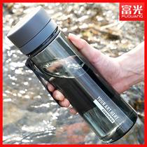 富光运动水杯子男女学生便携大容量水壶防摔太空杯耐热塑料茶杯