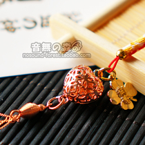 Domestic spot Japan Baisaki shrine Edge Knot Bell Royal Shou tie Love transport rise pendant shou
