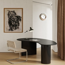 Solid wood computer desk Modern simple corner desk Assembly desk Personality ins desk Small apartment dining table