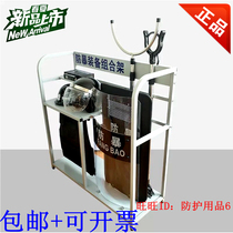 Security equipment combination frame security equipment steel fork shield rubber stick bracket cabinet anti-riot frame security display shelf