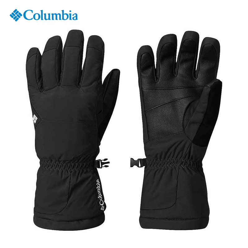 2017 autumn and winter Colombian outdoor male waterproof cow leather non-slip wear-resistant thick warm gloves SM9103