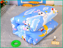 Kindergarten quilt mattress cover mattress cover micro-defect cotton can not afford the ball does not fade off the code products kindergarten three-piece