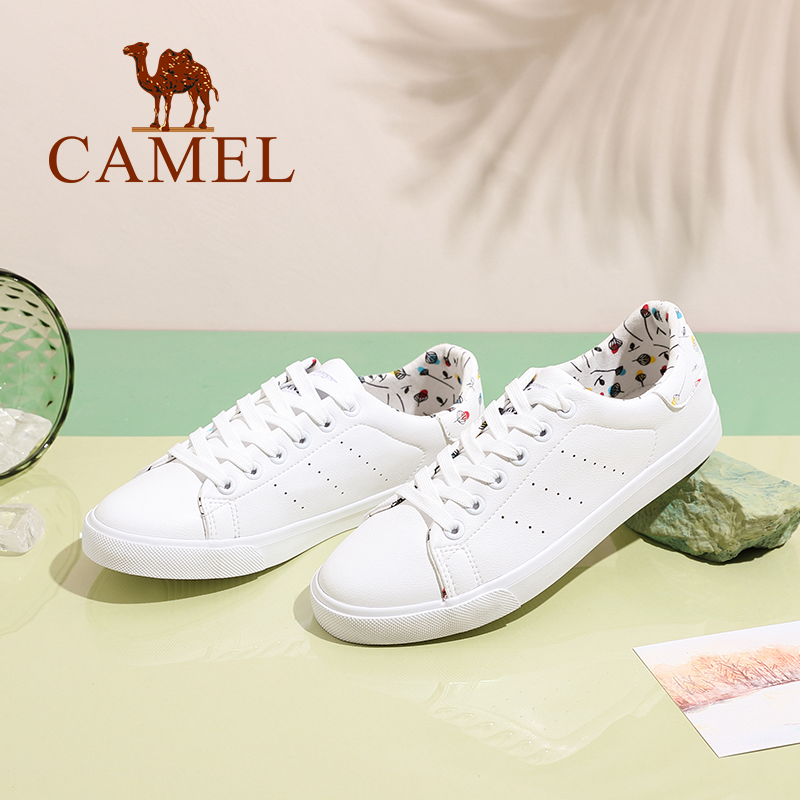 CAMEL camel women's shoes casual student shoes fashion personalized printing sports shoes