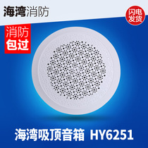 Bay HY6251 ceiling fire broadcast speaker Indoor speaker fire broadcast loudspeakers are hidden