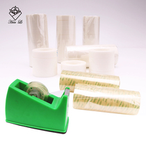 Transparent tape with white wedding car tape Stationery office supplies bag Flower Gift packaging Auxiliary Materials