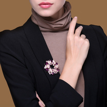 Brooch high-end women luxury temperament exquisite suit corsage clothing accessories niche pin 2021 New Tide